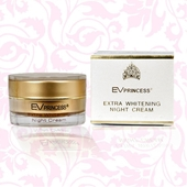 Ev- Princess Extra Whitening Night Cream.