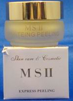 MSII - EXPRESS PEELING (yellow cream)