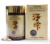 Fucoidan Umi No Shizuku -120 Capsule Supplement ( Lot of 6 )