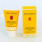White Beauty Triple Protection Oil-free Spf 105 (Lot of 3)