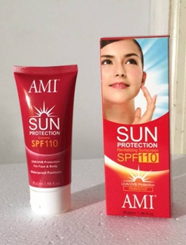 AMI Sun Protection Revitalizing Sunscreen SPF 110 ( lot of 6)